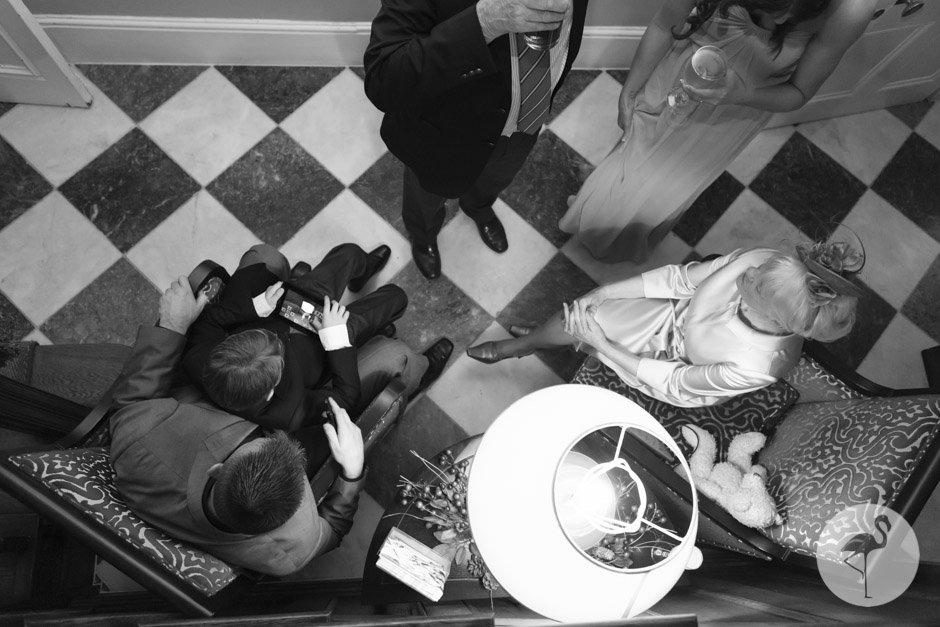 Black & White Bath wedding photographer
