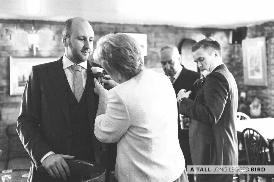 Kington St Michael Wedding