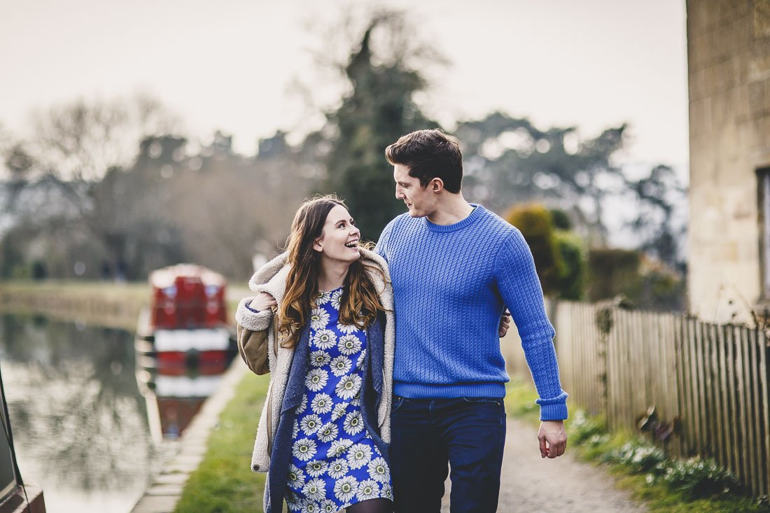 Engagement photography in Bath