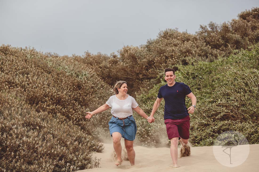 Creative engagement photography Weston-Super-Mare