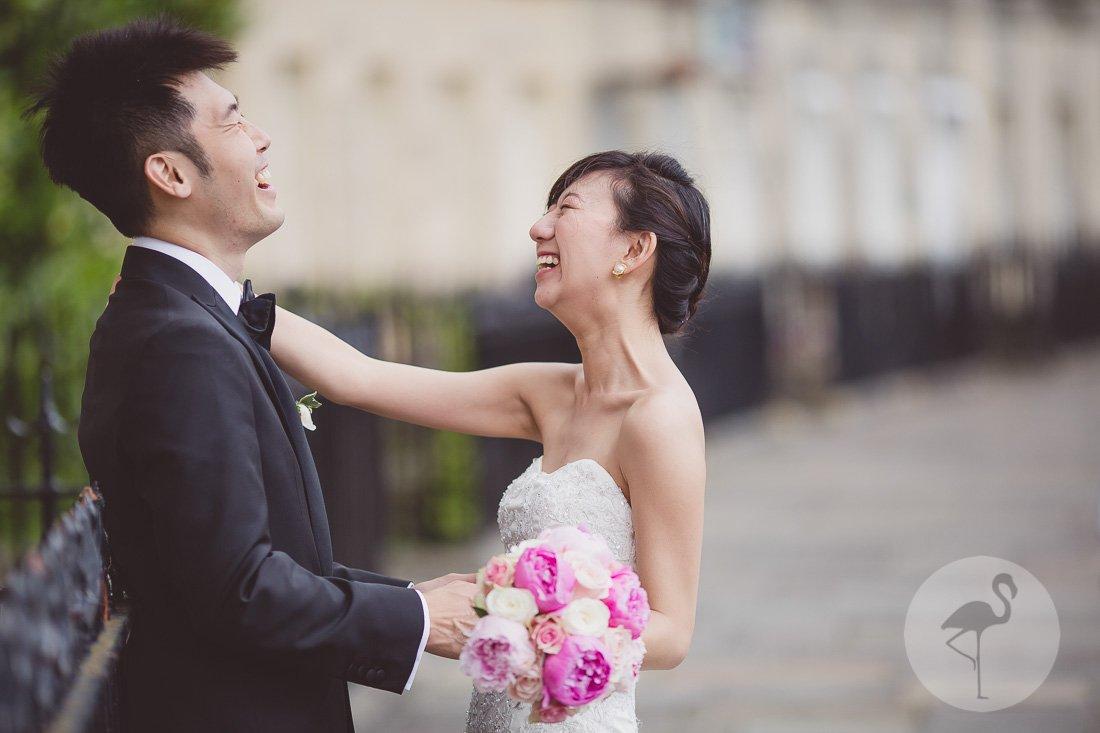 The Royal Crescent Bath Wedding Photography