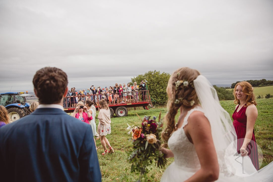 Huntstile Organic Farm wedding