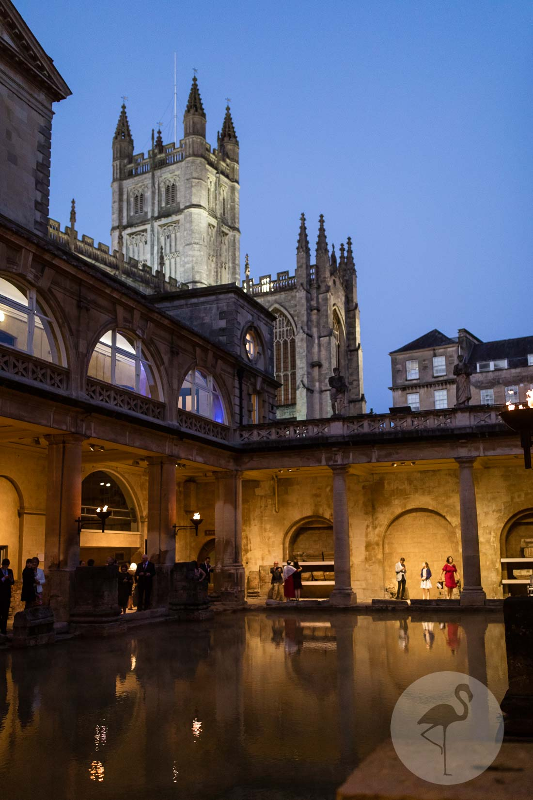 Roman Baths wedding Photographer