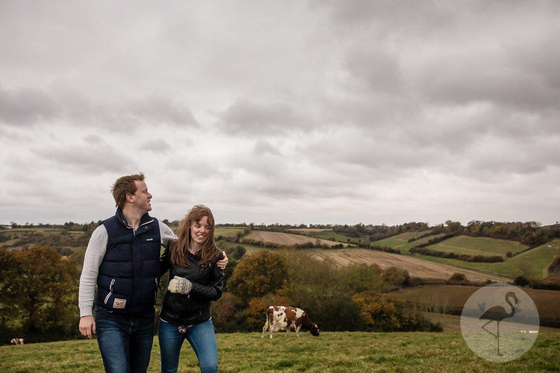 Autumn Engagement Shoot Jess & Liam