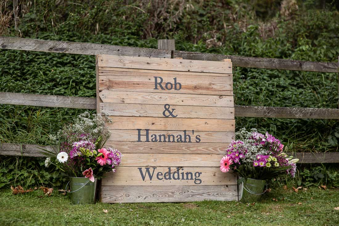 Rob & Hannah's Wedding at Wick Farm Bath