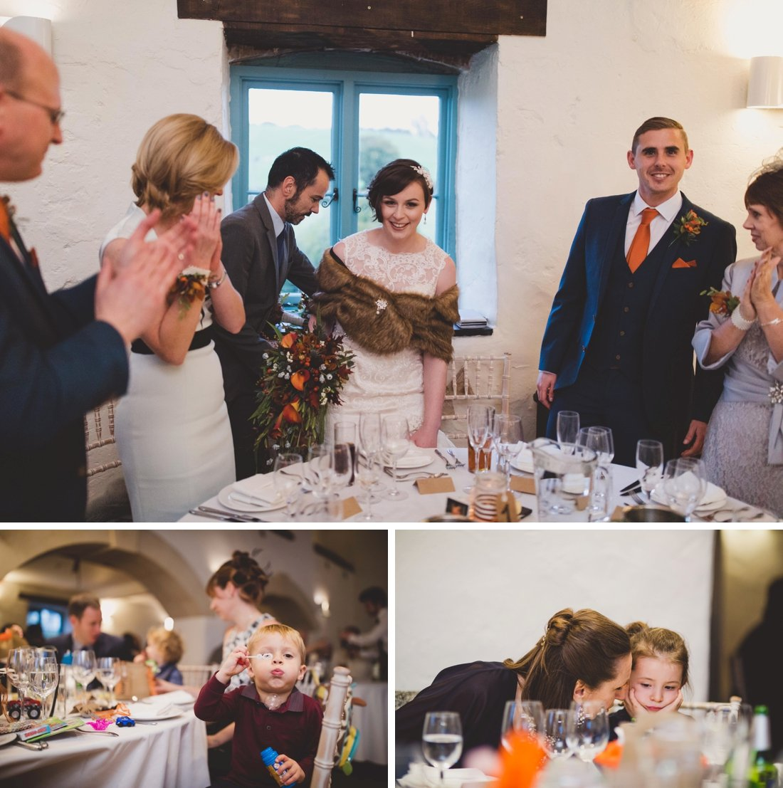 Autumn wedding at Priston Mill with Martha & James