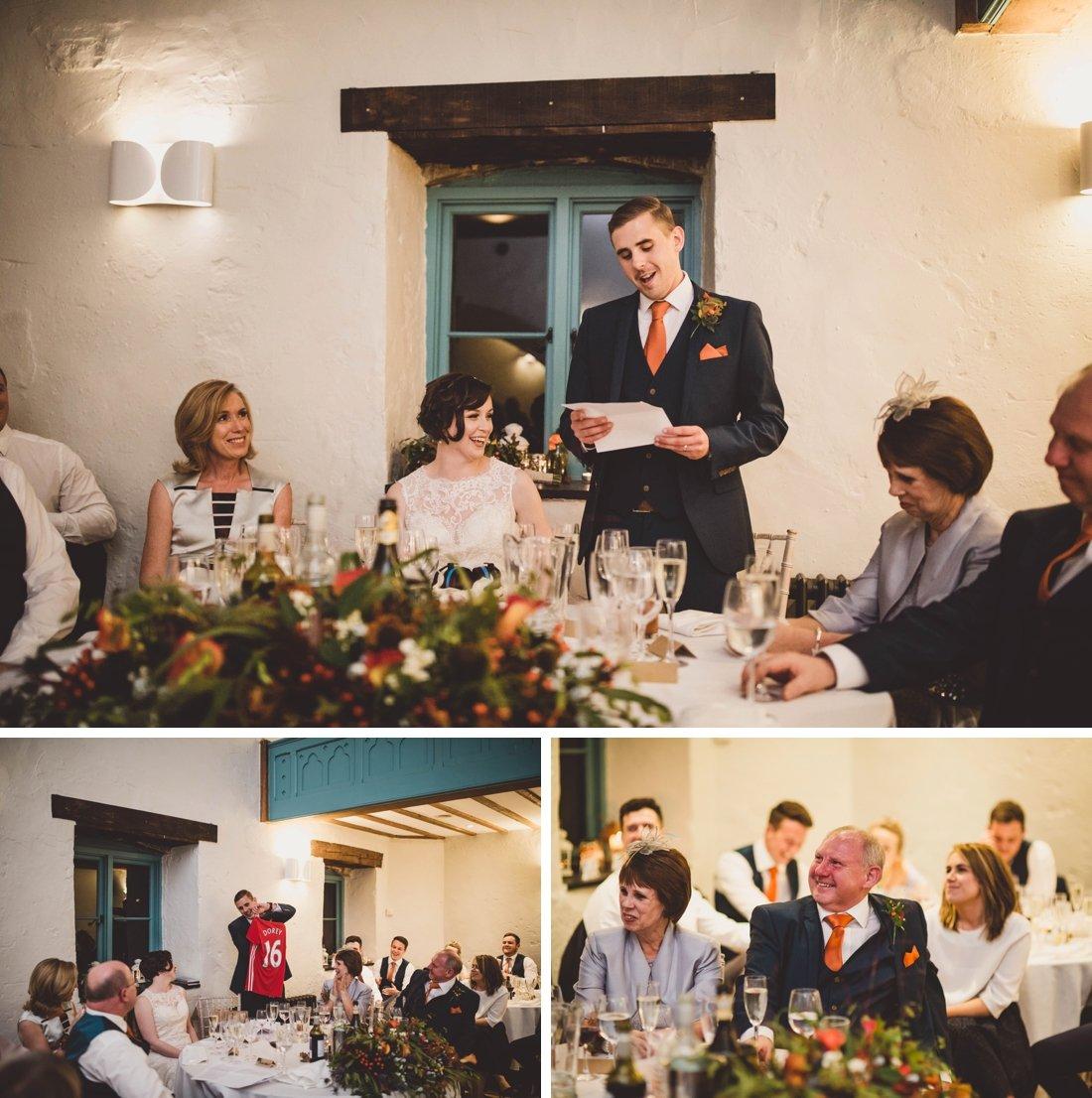Autumn wedding at Priston Mill with Martha & James
