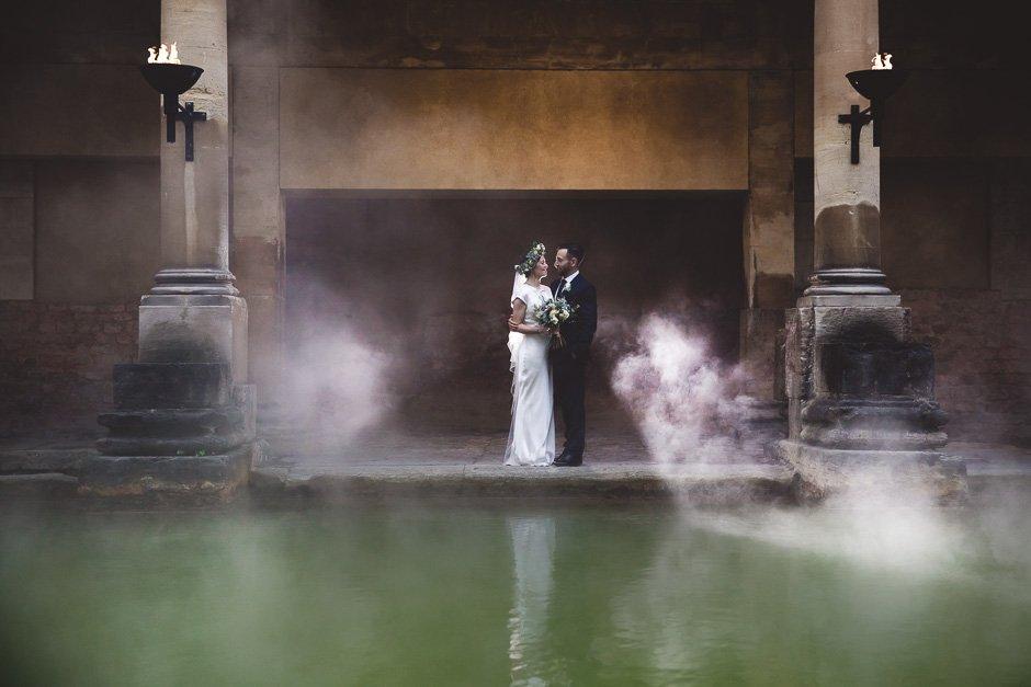 Sunrise Ceremony at The Roman Baths