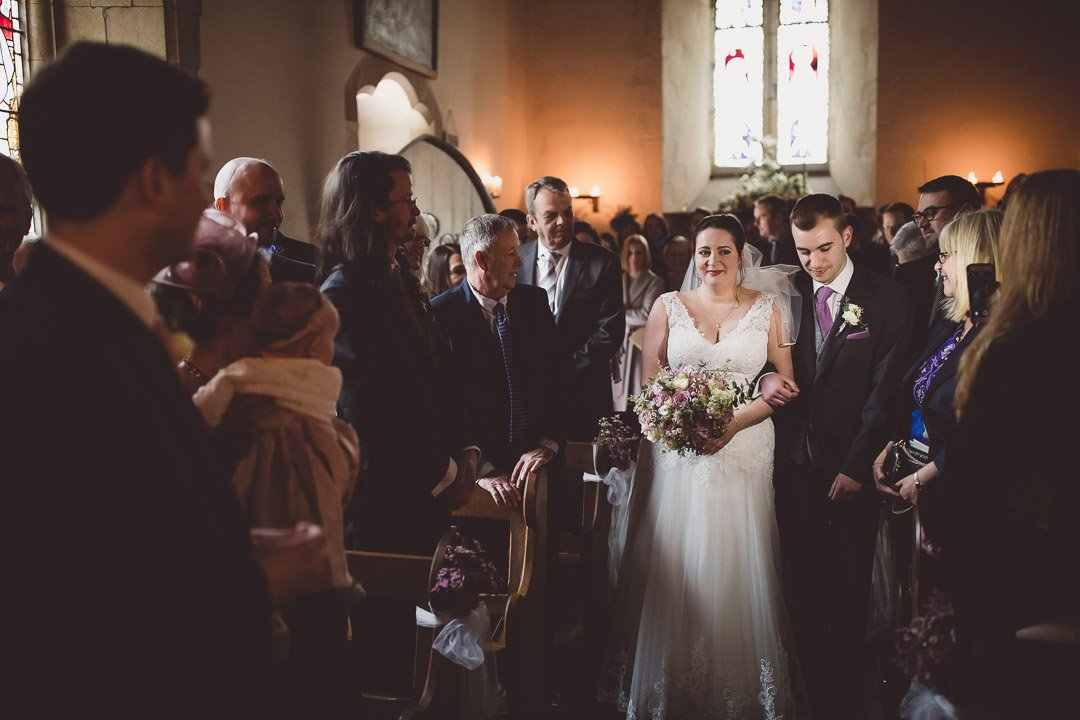 Spring wedding at Orchardleigh House Frome Somerset