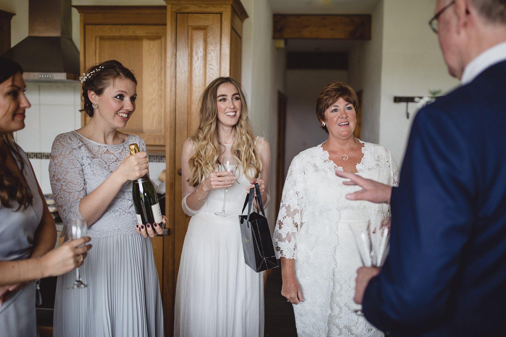 Rosedew farm spring wedding Wales
