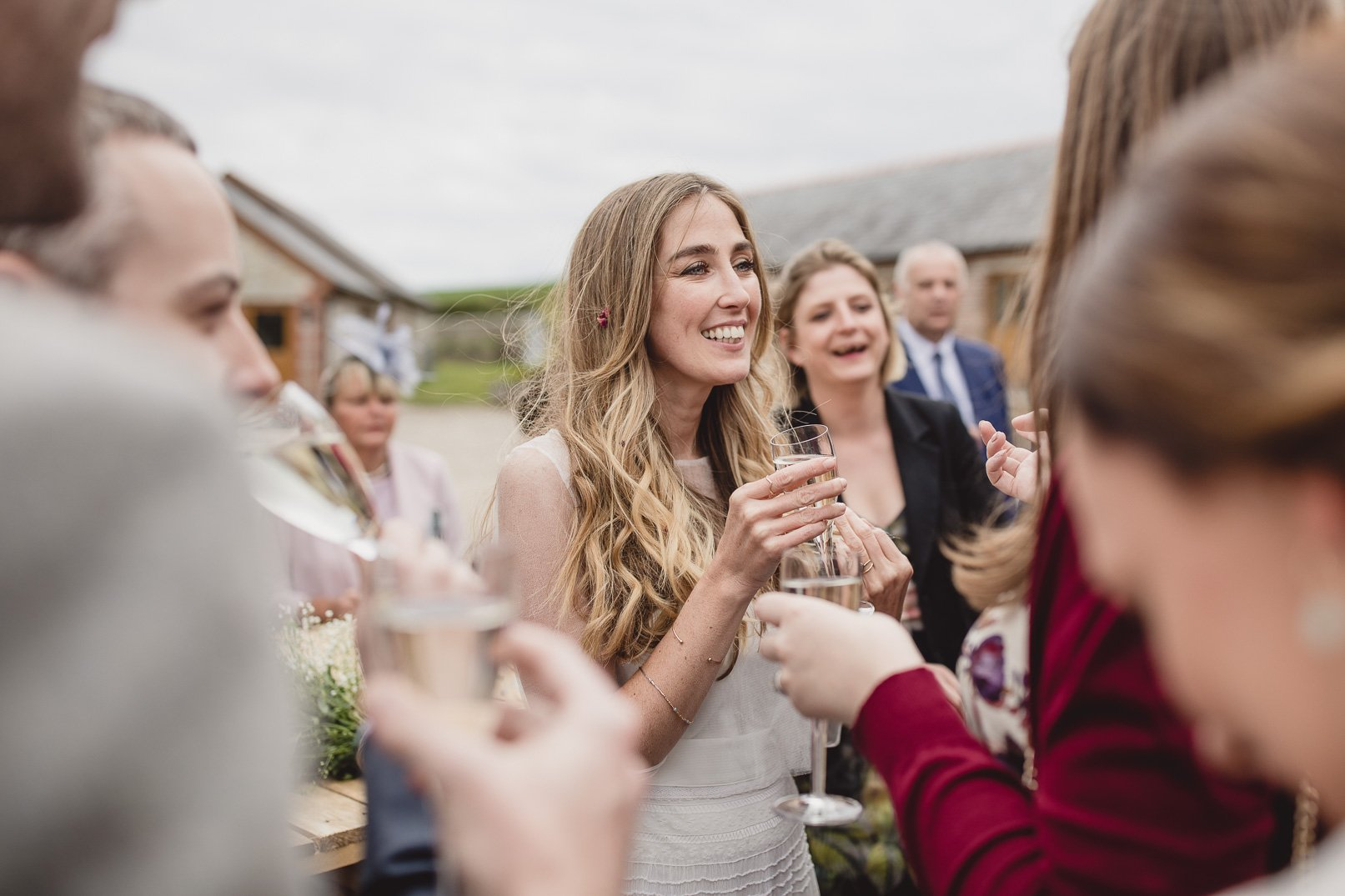 Rosedew farm spring wedding Wales