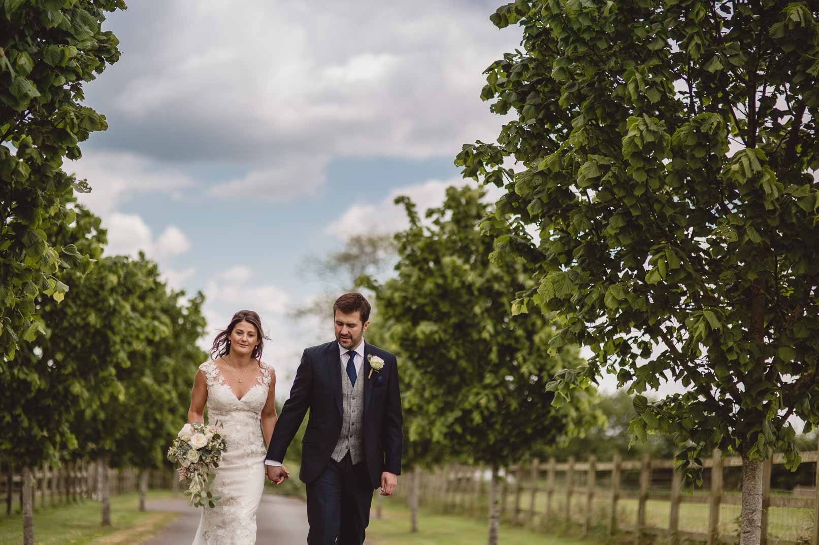 Spring wedding Wick farm