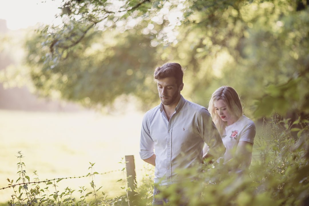 Ella & Joe Greyfields Woods Photoshoot