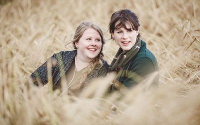 Claire & Zara's West Country Engagement Shoot