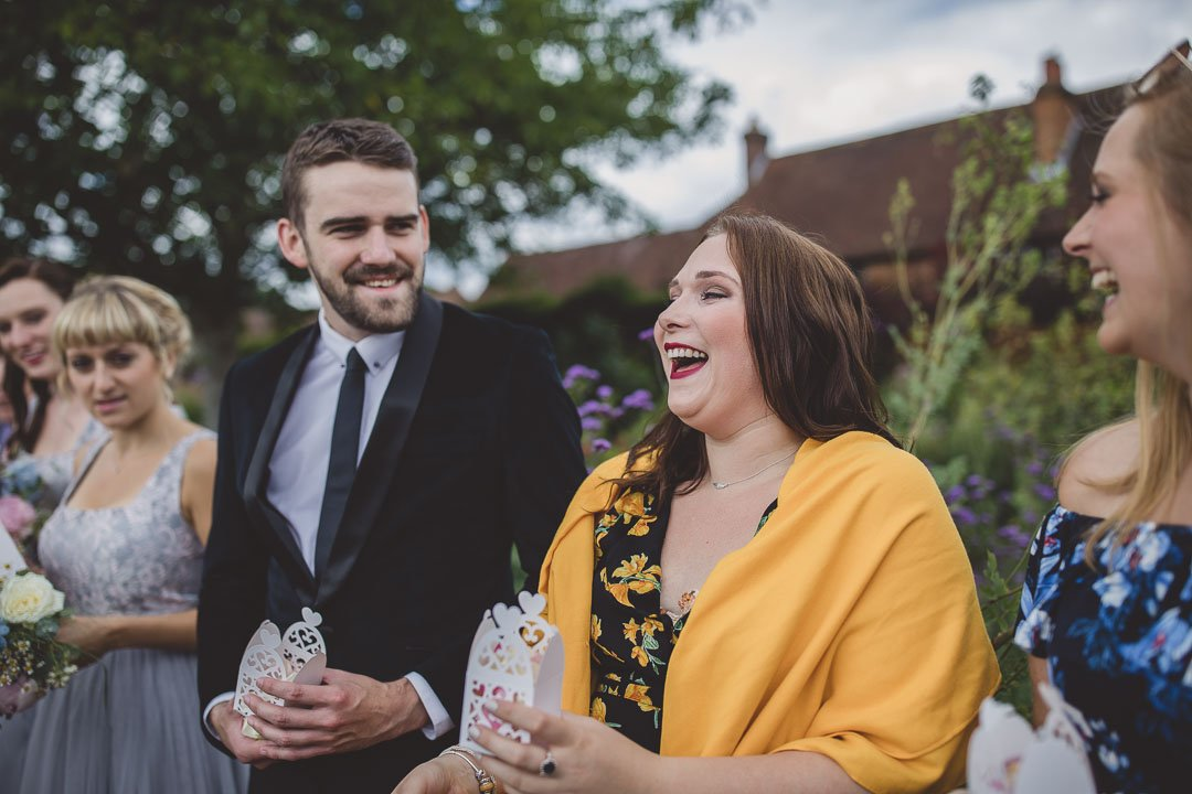 The walled Garden Cowdary Wedding