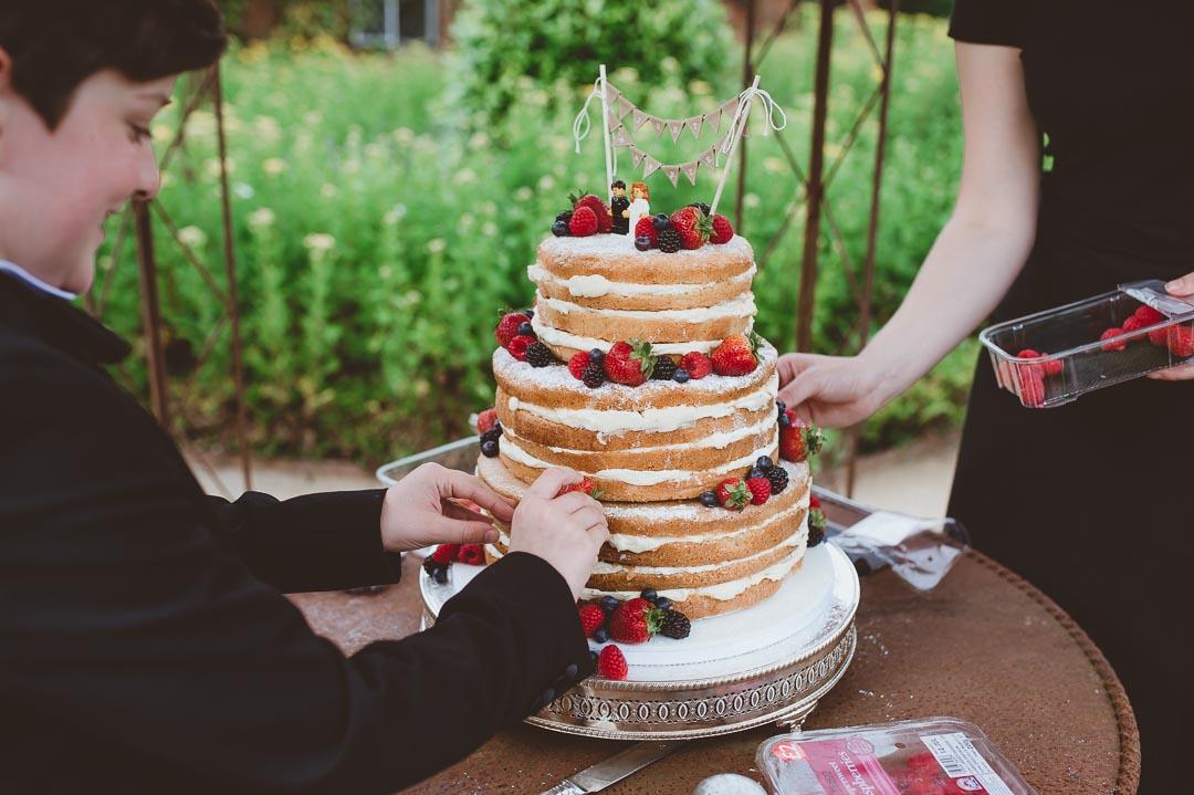 The Walled Garden Cowdray Wedding Photos