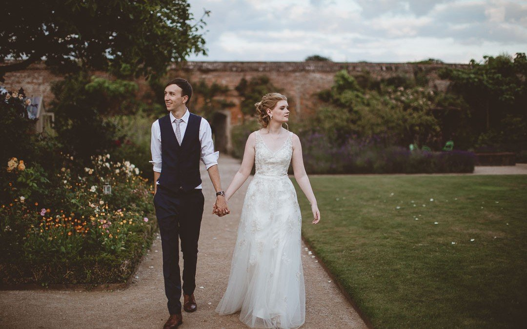 The Walled Garden at Cowdray Wedding Photography