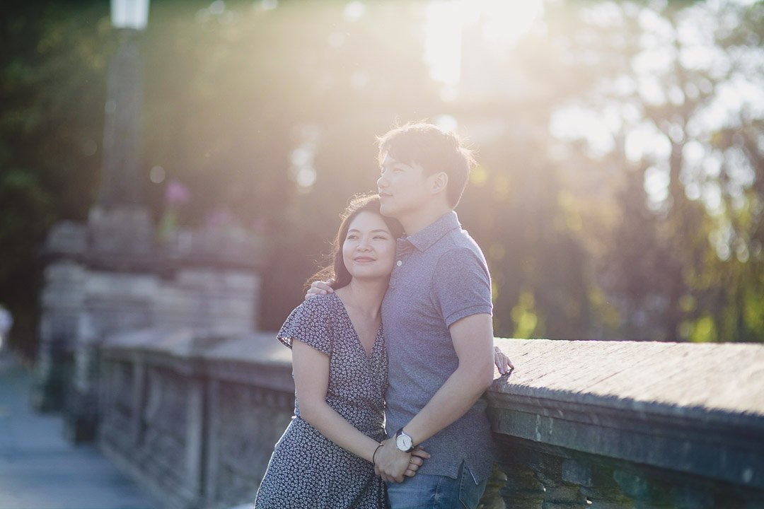 Victoria Park Engagement Photography