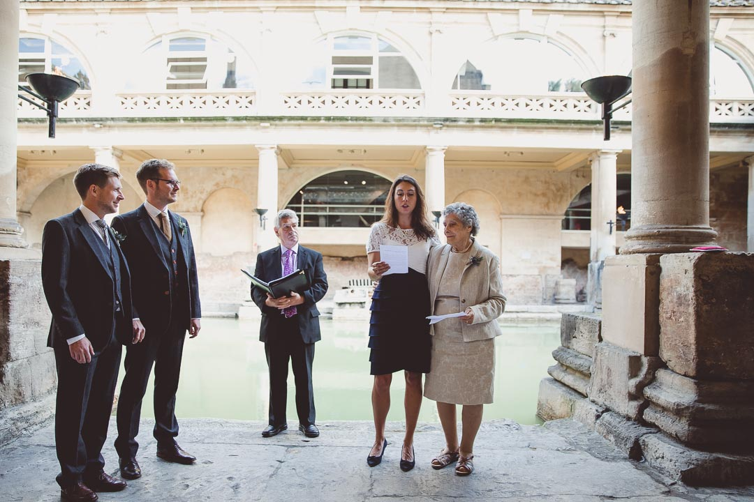 Roman Baths Sunrise Ceremony
