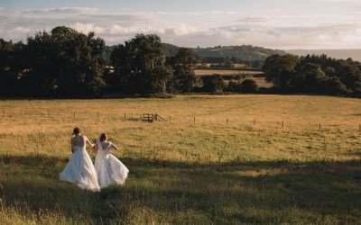 Folly Farm Wedding Photography