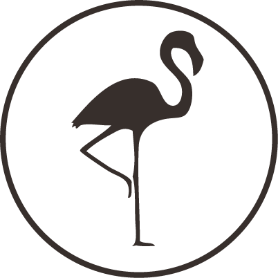 A TALL LONG LEGGED BIRD ICON