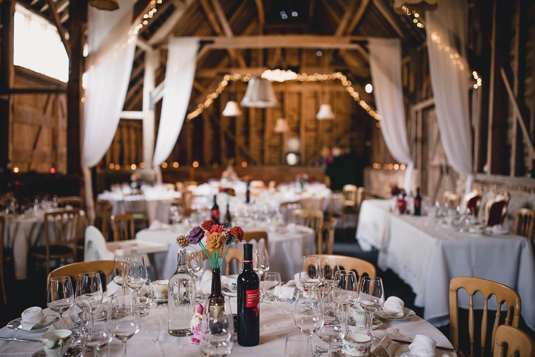 Vintage wedding at North Hidden Barn Hungerford