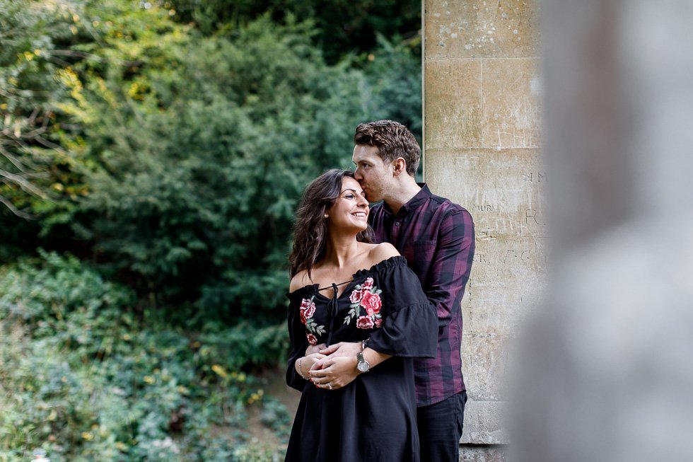 surprise engagement photos Bath
