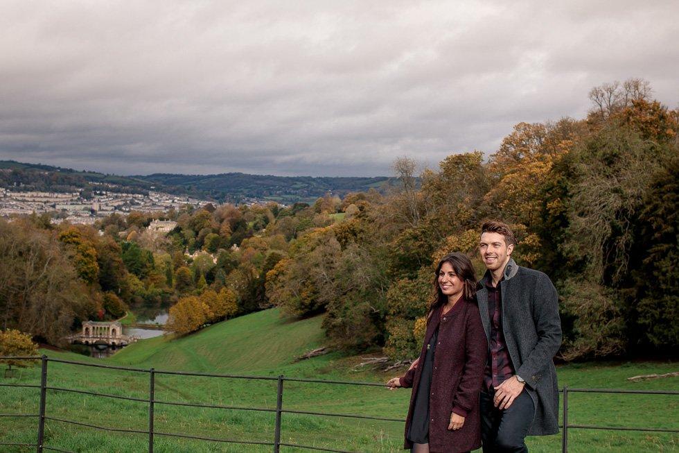 surprise engagement photos Bath