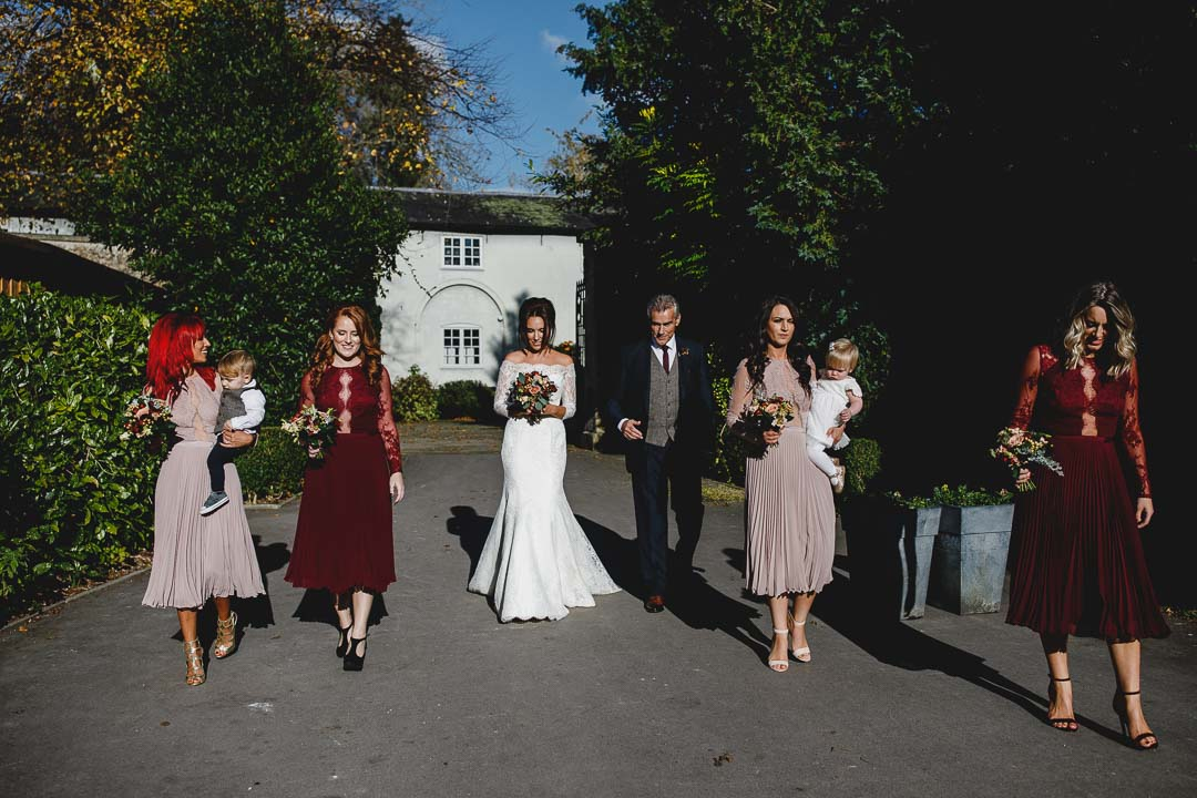 Liam & Tillys wedding Bishopstrow House Wiltshire