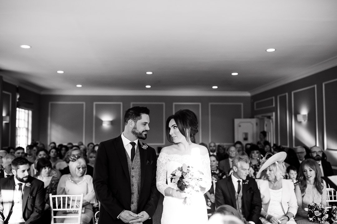 Liam & Tillys wedding Bishopstrow House Wiltshire Ceremony