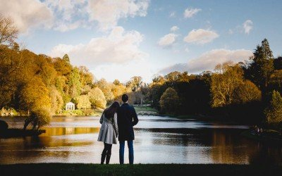 Stourhead Wiltshire Engagement Photos