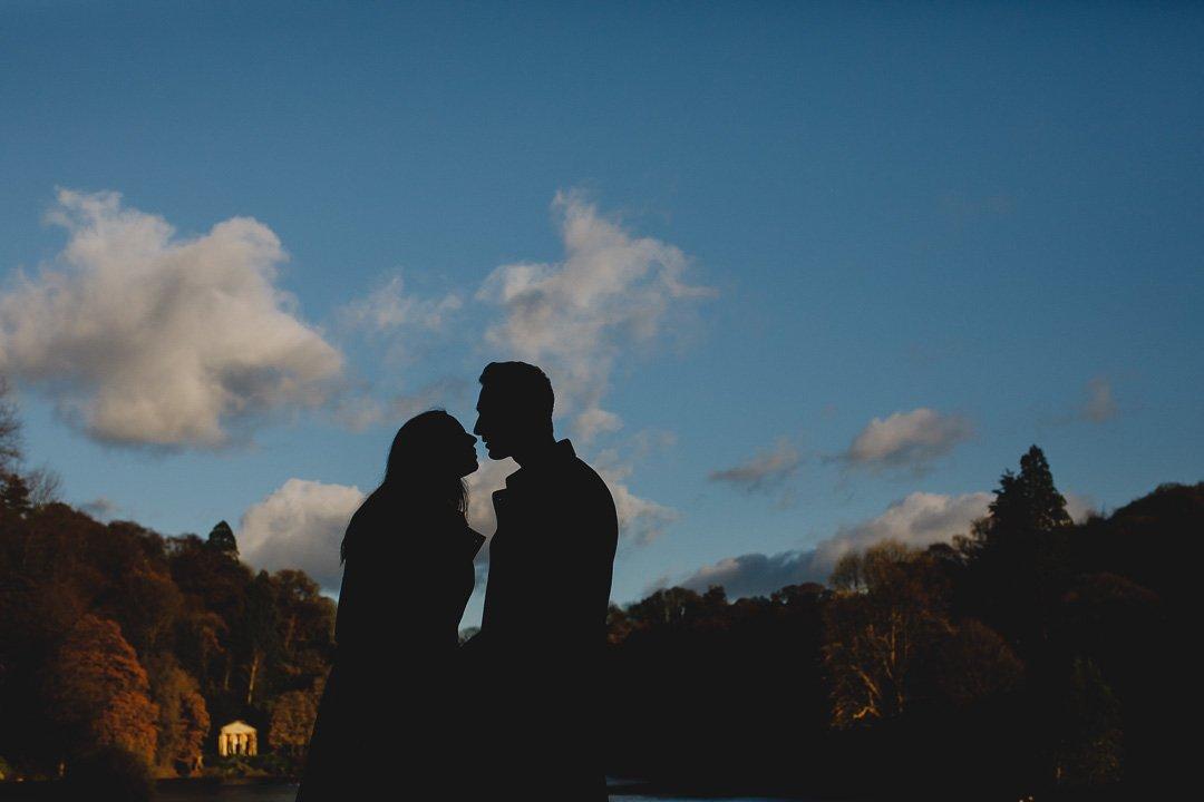 stourhead engagement photos