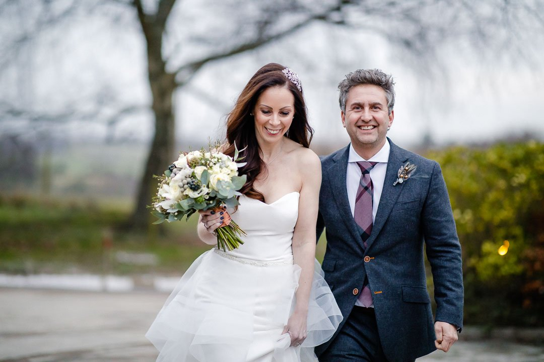 Winter wedding at The Pig Bath