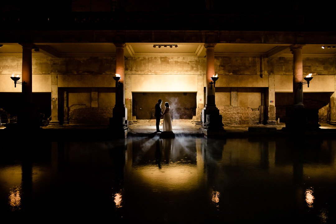 Christmas ceremony Roman Baths