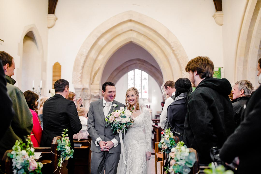 Winter wedding at Orchardleigh Estate