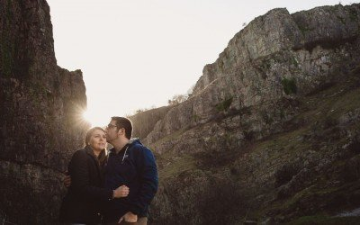 Engagement Photos at Cheddar Gorge