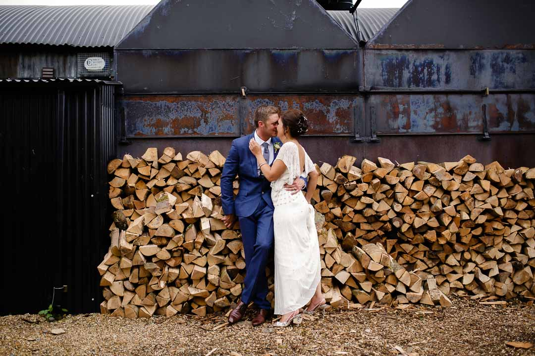 portraits Wedding at Cripps Stone barn