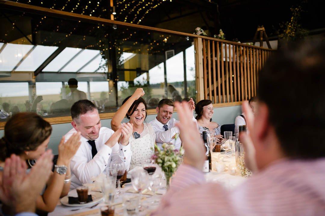 Wedding at Cripps Stone barn