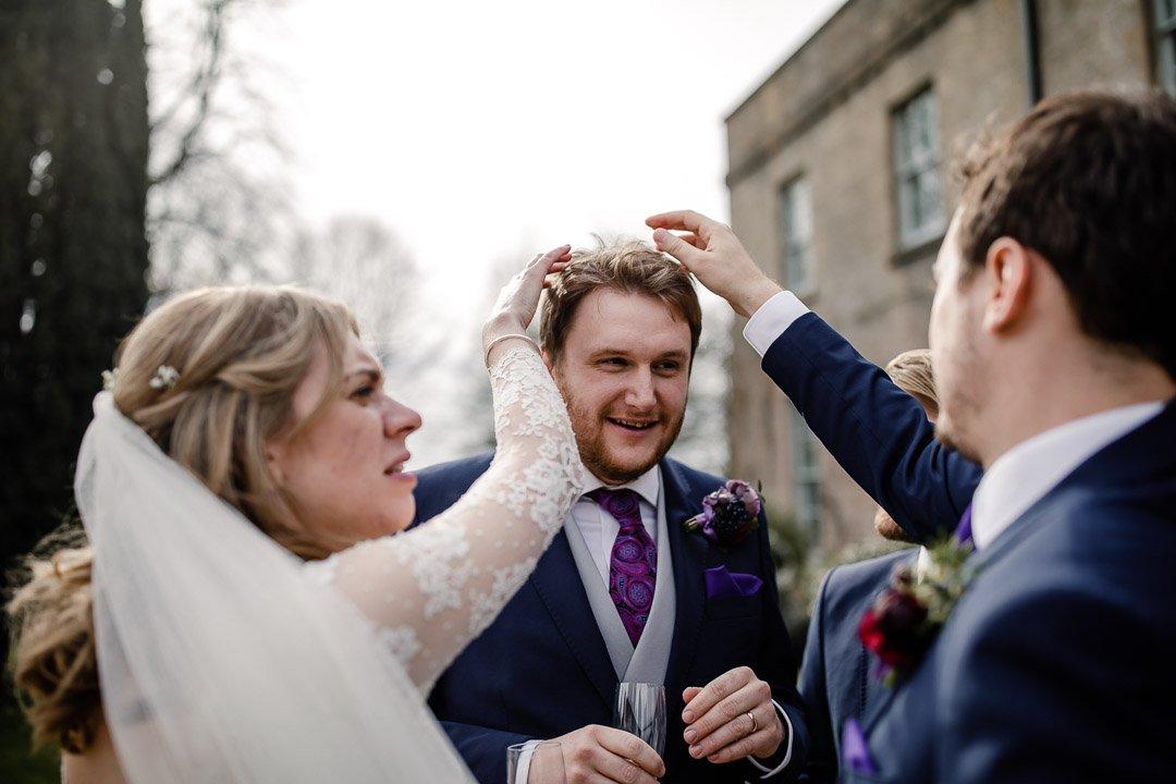 grooming the groom