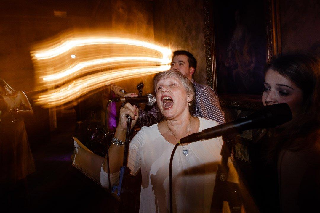 Mum singing