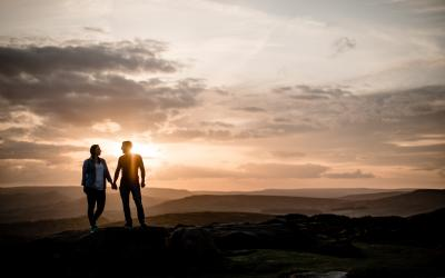 Peak District Engagement Shoot