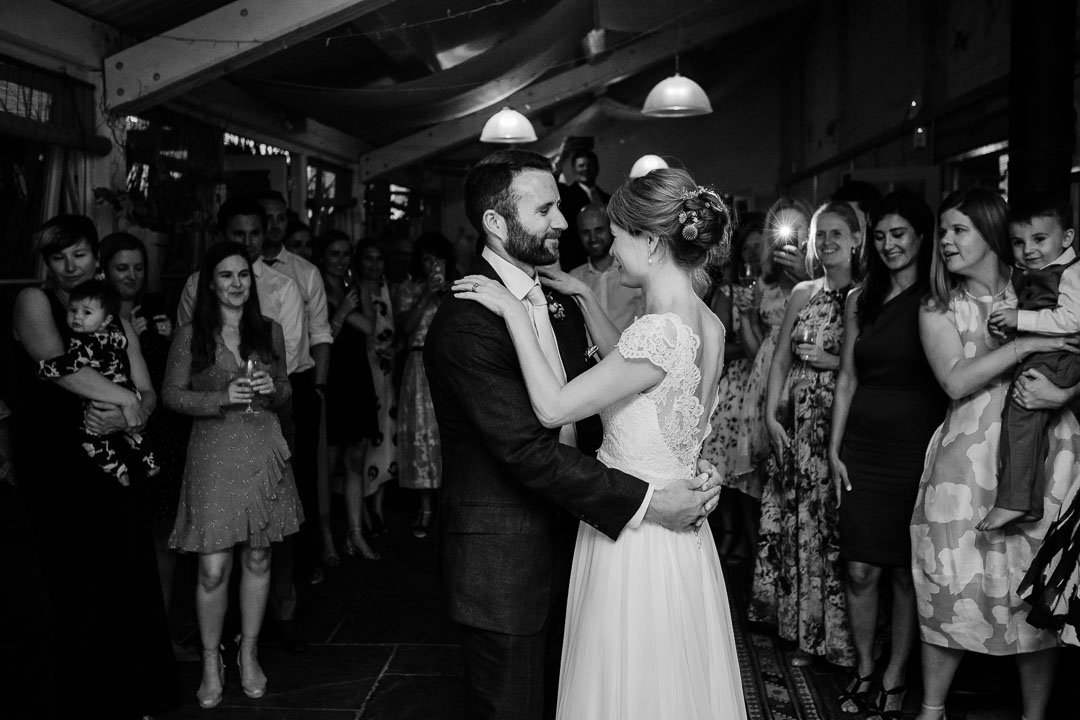 first dance Pythouse kitchen