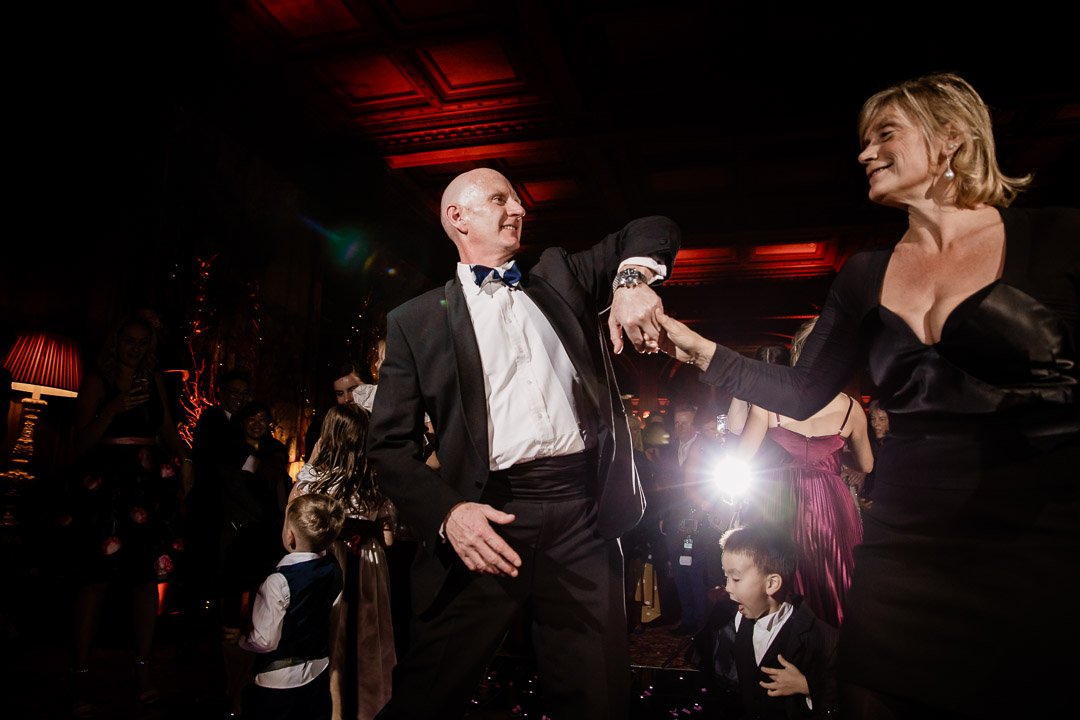 dancing guests at Cliveden House