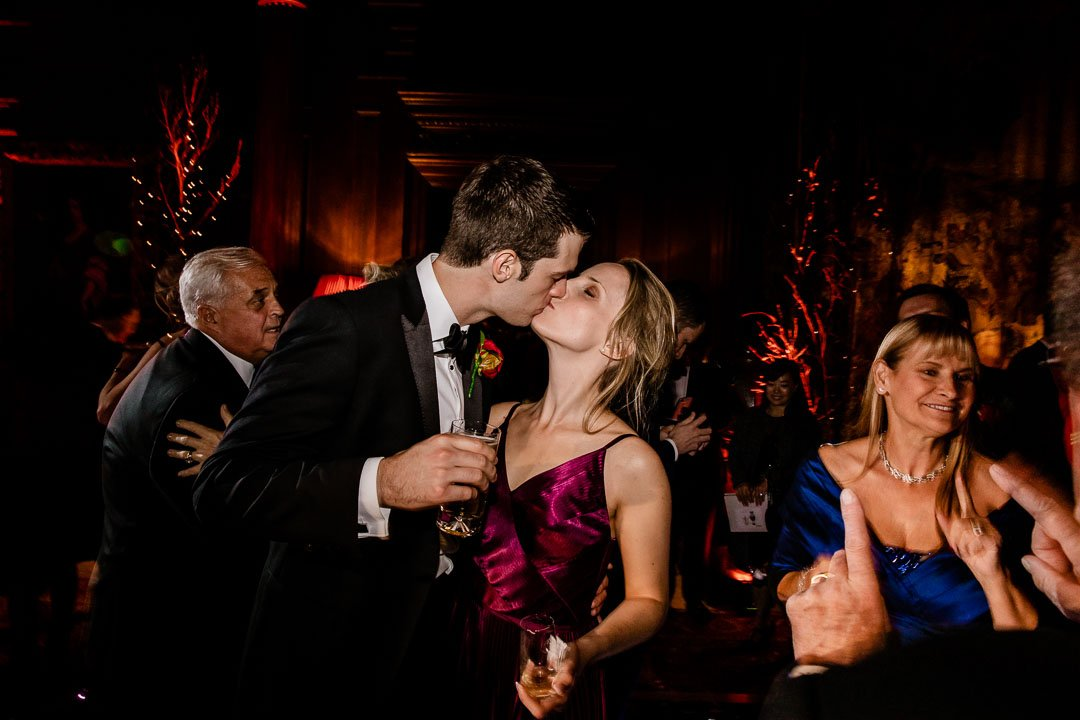 Kissing guests at Cliveden House