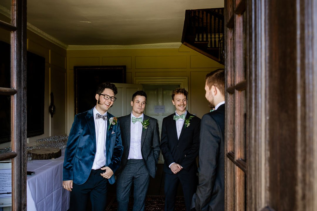 Newhouse Estate Wedding Groomsmen