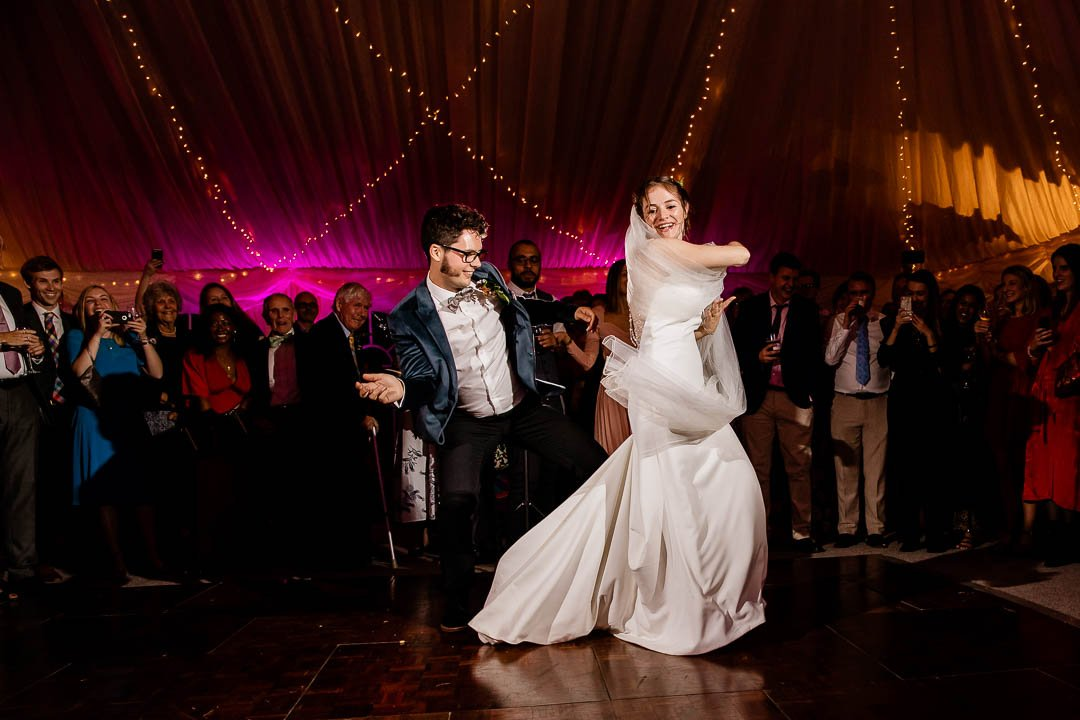 Newhouse Estate, first dance