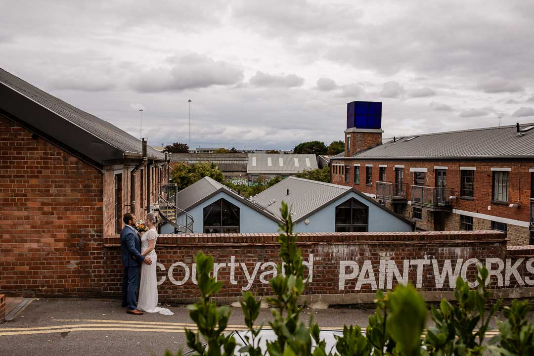 View of Bristol fro The Paintworks