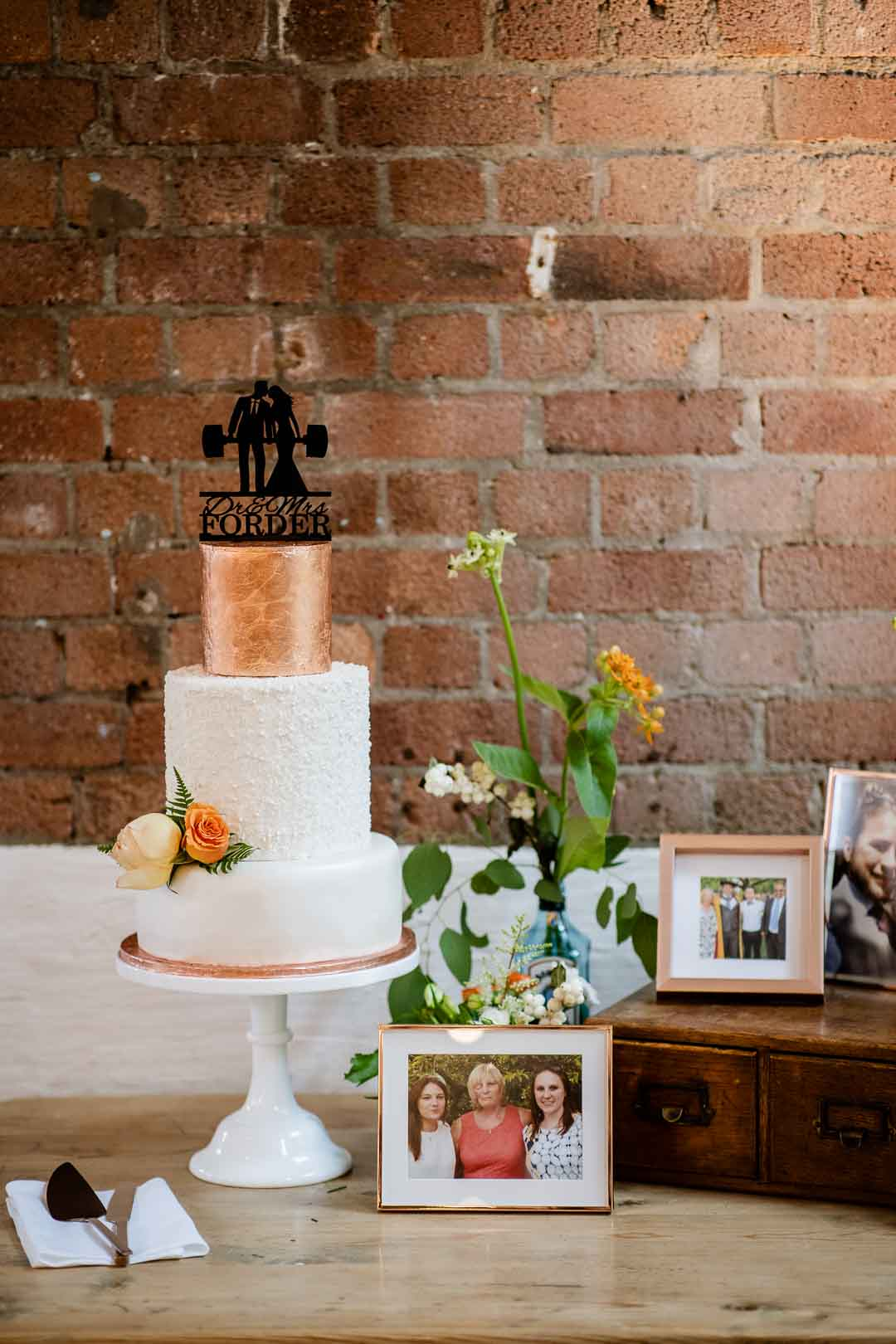 The Paintworks Event Space , the cake