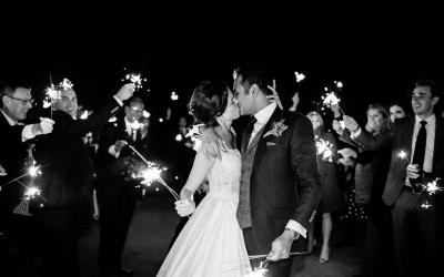 How to Plan a Fabulous Wedding Sparkler Exit