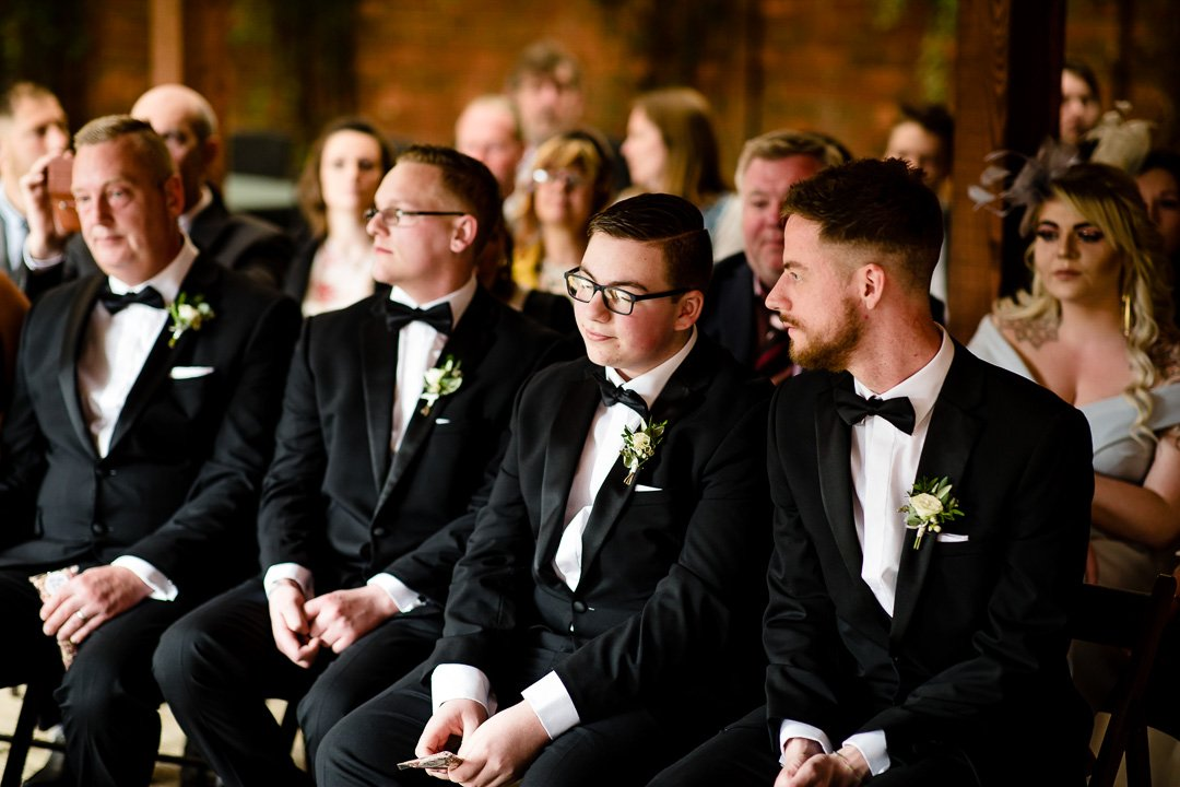 Groomsmen at Elmhay Park